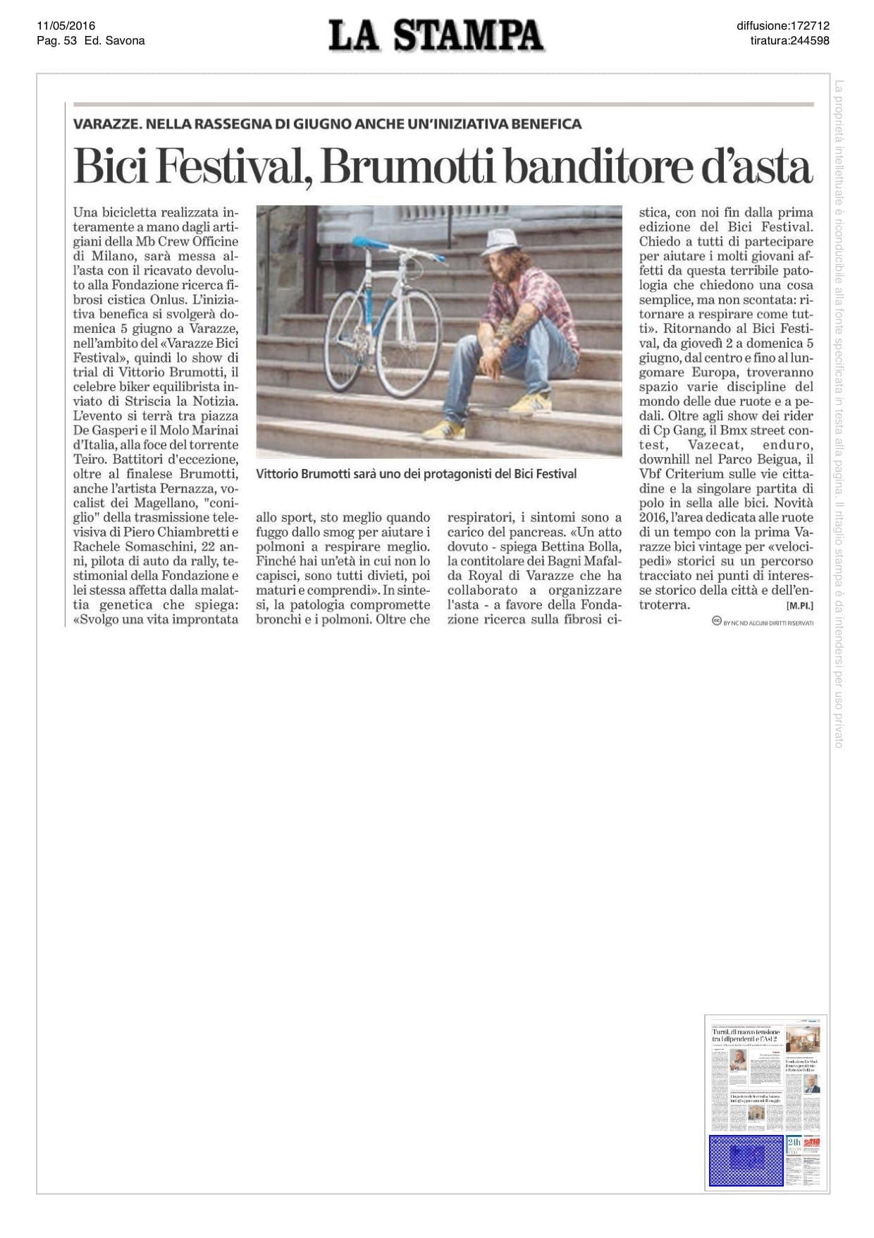 La Stampa · Rachele Somaschini