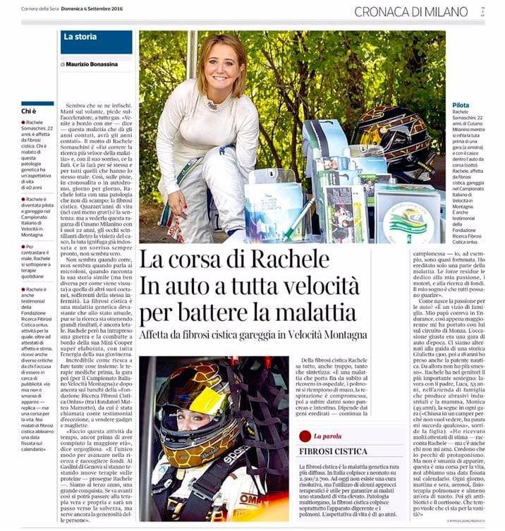 Corriere della Sera · Rachele Somaschini