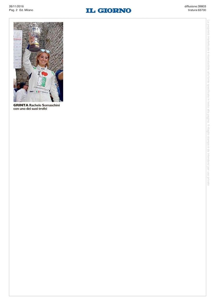 Il Giorno pagina 2
