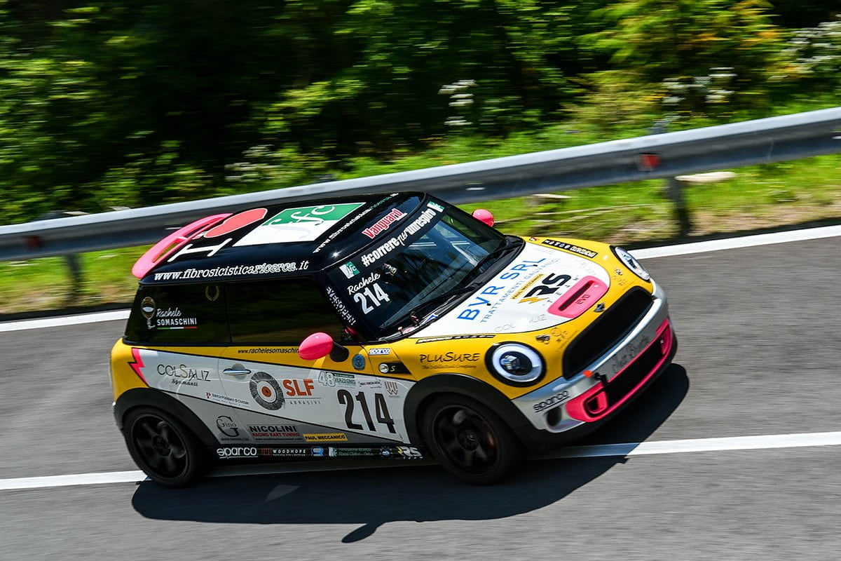 Rachele Somaschini - MINI Cooper S JCW - RS Team