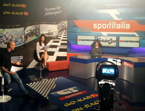 Rachele ospite ad On-Race TV
