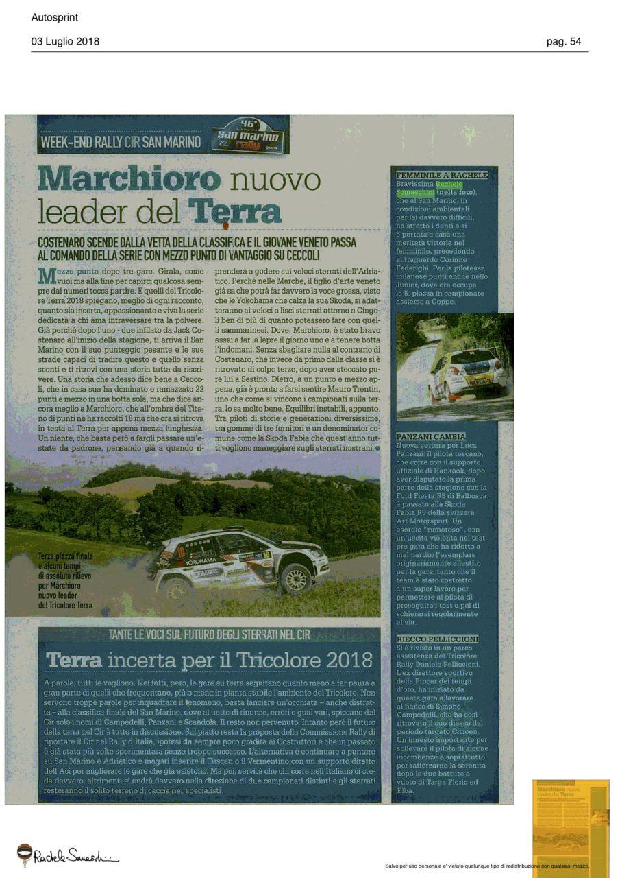 Autosprint San Marino 2018