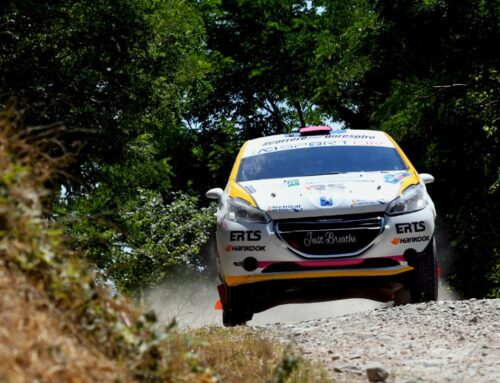 Rachele Somaschini super al San Marino Rally