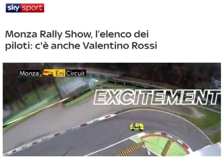 Monza Rally Show, l'elenco dei piloti
