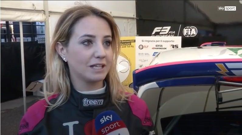Rally Monza, Somaschini Una donna pilota desta attenzioni
