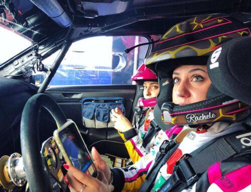 Rally di Montecarlo, uno spettacolo a cui Rachele Somaschini non poteva mancare